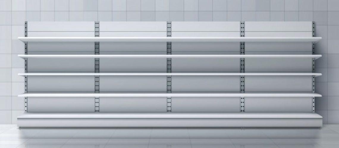מדפי אלומיניום מודולריים לבית או למשרד